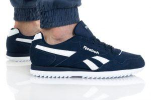 נעלי סניקרס ריבוק לגברים Reebok ROYAL GLIDE - כחול/לבן