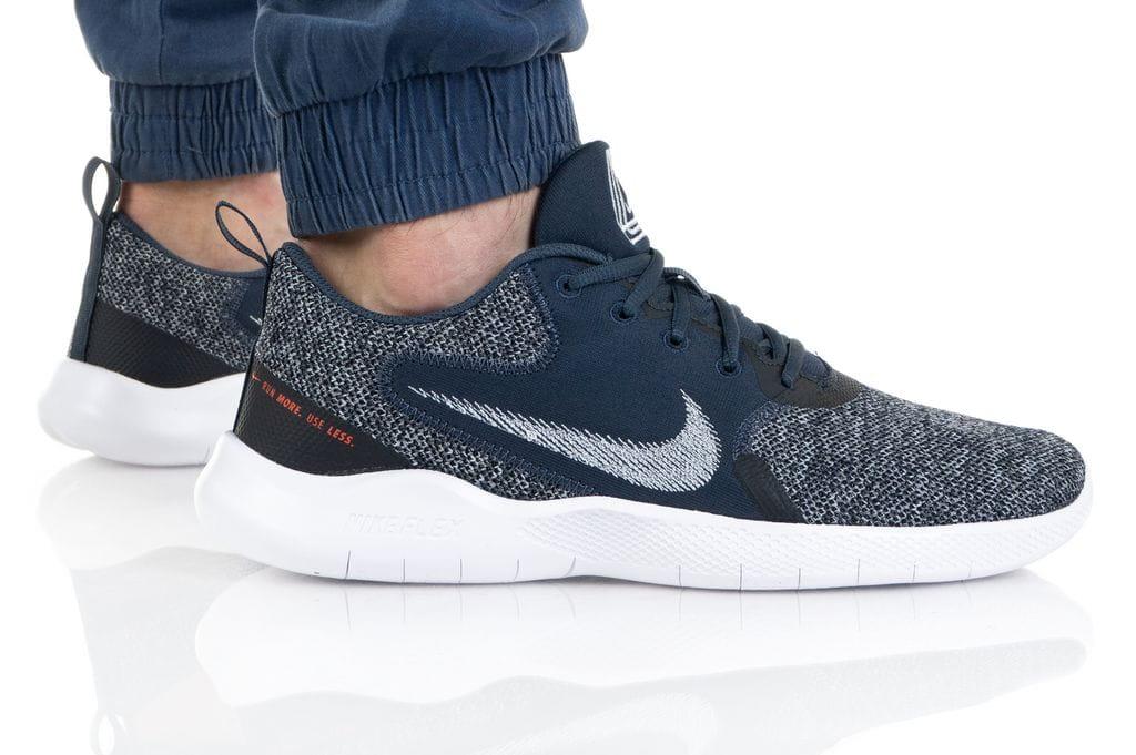 נעלי סניקרס נייק לגברים Nike FLEX EXPERIENCE RN 10 - כחול כהה