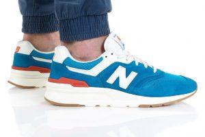 נעלי סניקרס ניו באלאנס לגברים New Balance CM997 - כחול