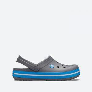 כפכפי Crocs לגברים Crocs Crocband - אפור/כחול