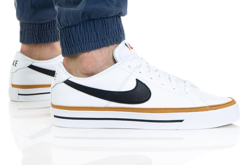 נעלי סניקרס נייק לגברים Nike COURT LEGACY - לבן