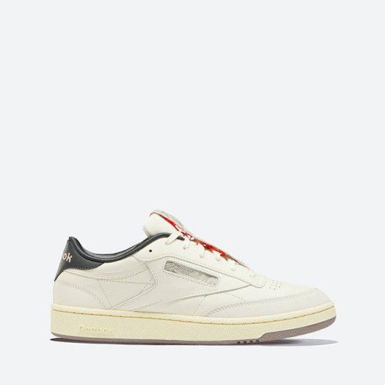 נעלי סניקרס ריבוק לגברים Reebok Club C 85 - לבן