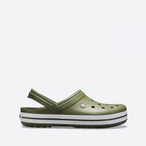 כפכפי Crocs לגברים Crocs Crocband - ירוק זית