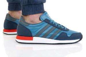 נעלי סניקרס אדידס לגברים Adidas Originals USA 84 - כחול