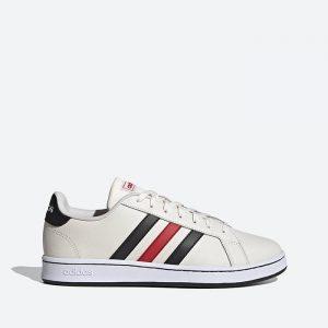 נעלי סניקרס אדידס לגברים Adidas Grand Court - צבעוני בהיר