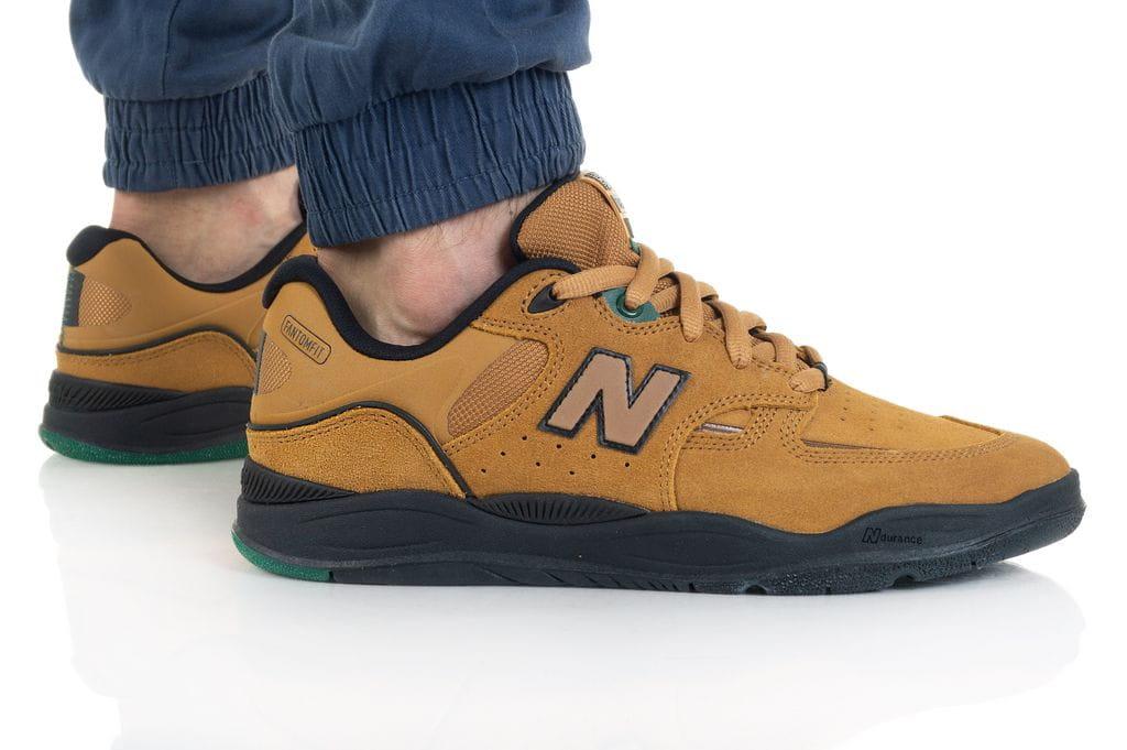 נעלי סניקרס ניו באלאנס לגברים New Balance NM101 - חום