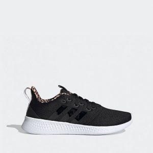 נעלי ריצה אדידס לנשים Adidas Puremotion - שחור הדפס