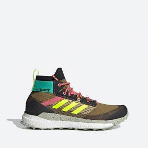 נעלי טיולים אדידס לגברים Adidas Terrex Free Hiker Primeblue - צבעוני