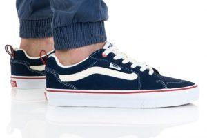 נעלי סניקרס ואנס לגברים Vans Filmore - כחול כההלבן