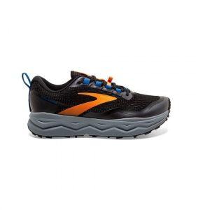 נעלי ריצת שטח ברוקס לגברים Brooks 5 Caldera - שחור