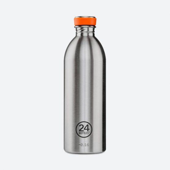אביזרי ספורט 24באטלס לגברים 24Bottles Urban Bottle 1000 - כסף