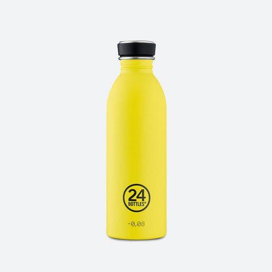 אביזרי ספורט 24באטלס לגברים 24Bottles Urban Bottle 500ml - צהוב