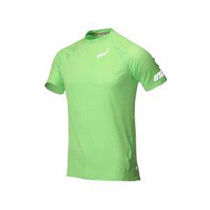 חולצת אימון אינוב 8 לגברים Inov 8 BASE SS - ירוק בהיר