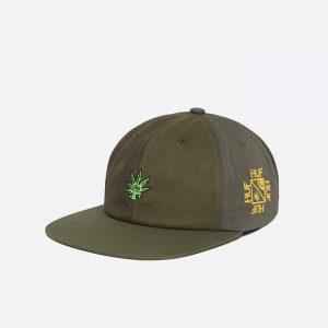 כובע HUF לגברים HUF Easy Green Contrast 6 - ירוק