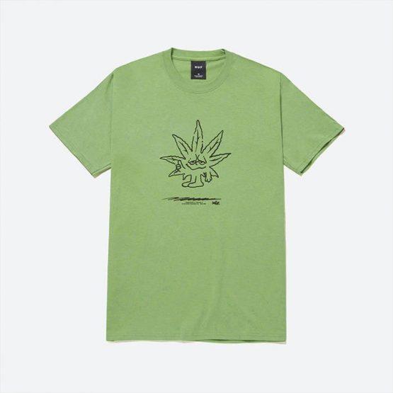 חולצת T HUF לגברים HUF Easy Green - ירוק