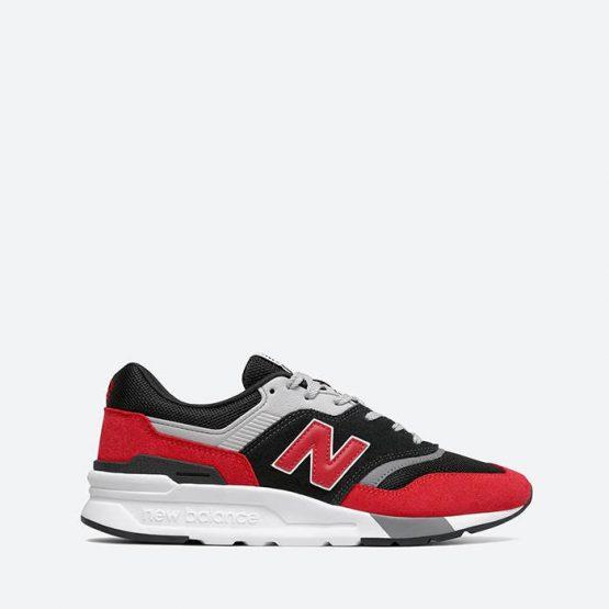 נעלי סניקרס ניו באלאנס לגברים New Balance CM997 - שחור/אדום