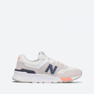 נעלי סניקרס ניו באלאנס לנשים New Balance CW997 - לבן/כחול
