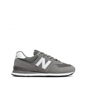 נעלי סניקרס ניו באלאנס לגברים New Balance ML574 - אפור/לבן