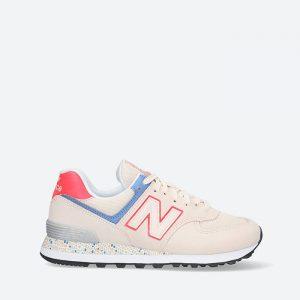 נעלי סניקרס ניו באלאנס לנשים New Balance WL574 - צבעוני בהיר