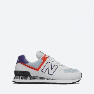 נעלי סניקרס ניו באלאנס לנשים New Balance WL574 - אפור בהיר