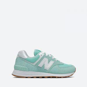 נעלי סניקרס ניו באלאנס לנשים New Balance WL574 - טורקיז