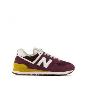 נעלי סניקרס ניו באלאנס לנשים New Balance WL574 - בורדו