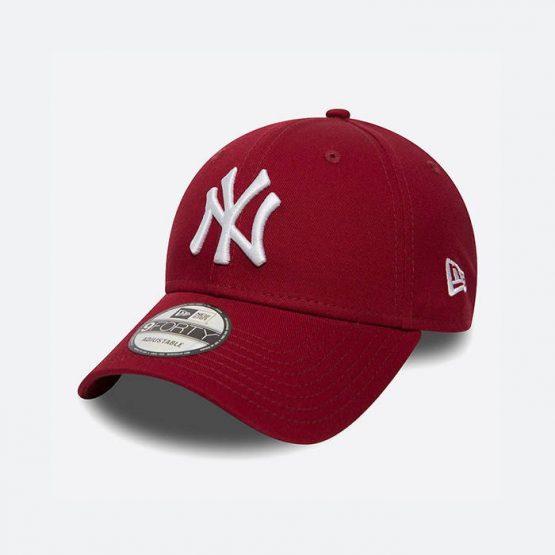 כובע ניו ארה לגברים New Era New York Yankees - בורדו