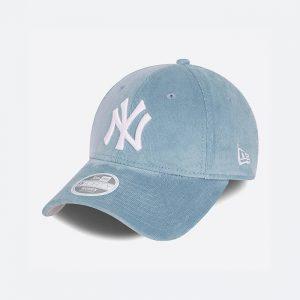 כובע ניו ארה לנשים New Era Cord Forty New York Yankess - כחול