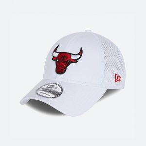 כובע ניו ארה לגברים New Era Team Arch Chicago Bulls - לבן