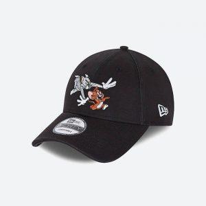 כובע ניו ארה לגברים New Era x Tom And Jerry - שחור