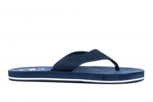 כפכפי פור אף לגברים 4F Slipper - כחול
