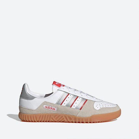 נעלי סניקרס אדידס לגברים Adidas Indoor Comp - לבן