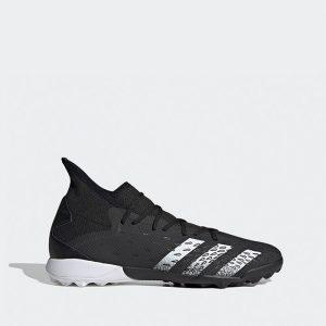 נעלי קטרגל אדידס לגברים Adidas PREDATOR FREAK.3 TURF - שחור