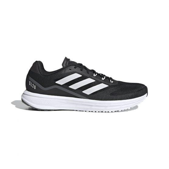 נעלי סניקרס אדידס לגברים Adidas SL20.2 - שחור/לבן