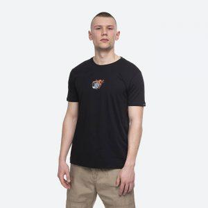 חולצת T אלפא אינדסטריז לגברים Alpha Industries Hot Wheels Back Prin - שחור