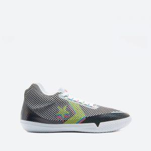 נעלי סניקרס קונברס לגברים Converse All Star BB EVO Mid - צבעוני כהה