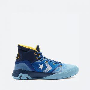 נעלי סניקרס קונברס לגברים Converse G4 High Top Heart of the City - כחול