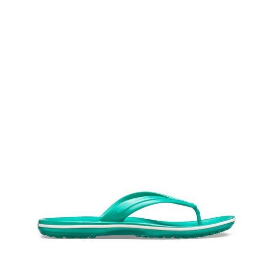 כפכפי Crocs לגברים Crocs Crocband Flip - ירוק