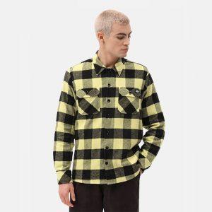 חולצה מכופתרת Dickies לגברים Dickies New Sacramento - צהוב