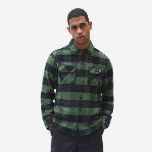 חולצה מכופתרת Dickies לגברים Dickies New Sacramento - ירוק