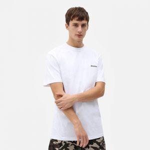 חולצת T Dickies לגברים Dickies SS Lorento Tee - לבן