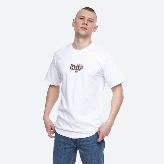 חולצת T HUF לגברים HUF x Street Fighter Chun-Li & Cammy - לבן