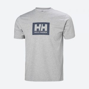 חולצת T הלי הנסן לגברים Helly Hansen Box Tee - אפור