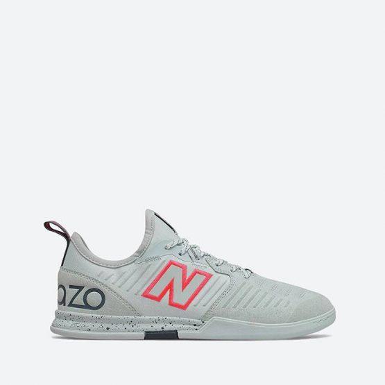 נעלי קטרגל ניו באלאנס לגברים New Balance Audazo V5 Pro Suede IN - אפור