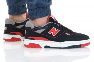 נעלי סניקרס ניו באלאנס לגברים New Balance BB550 - שחור