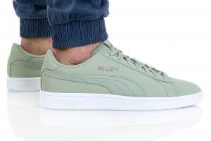 נעלי סניקרס פומה לגברים PUMA SMASH V2 BUCK - ירוק