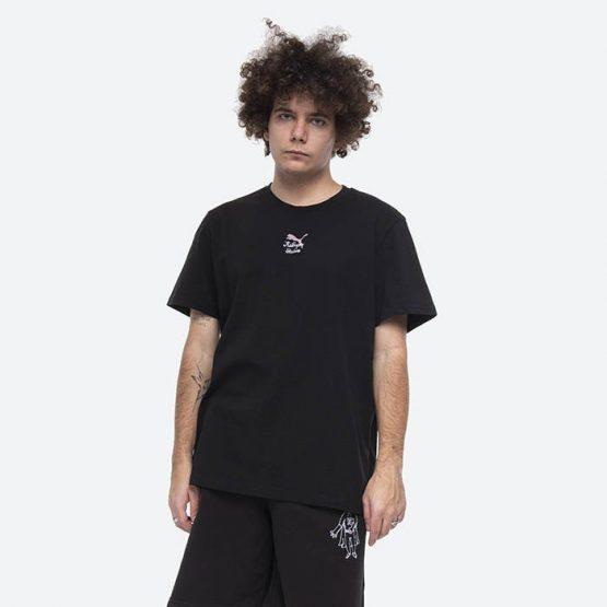 חולצת T פומה לגברים PUMA x Studios Tee - שחור