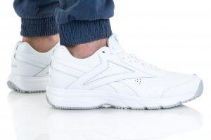 נעלי סניקרס ריבוק לגברים Reebok WORK N CUSHION 4.0 - לבן