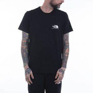 חולצת T דה נורת פיס לגברים The North Face Berkeley California Pocket Tee - שחור