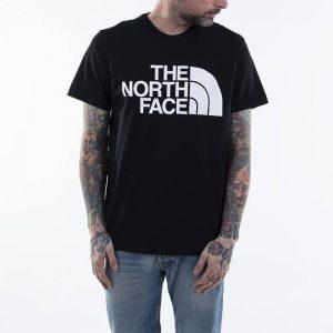 חולצת T דה נורת פיס לגברים The North Face Standard Ss Tee - שחור